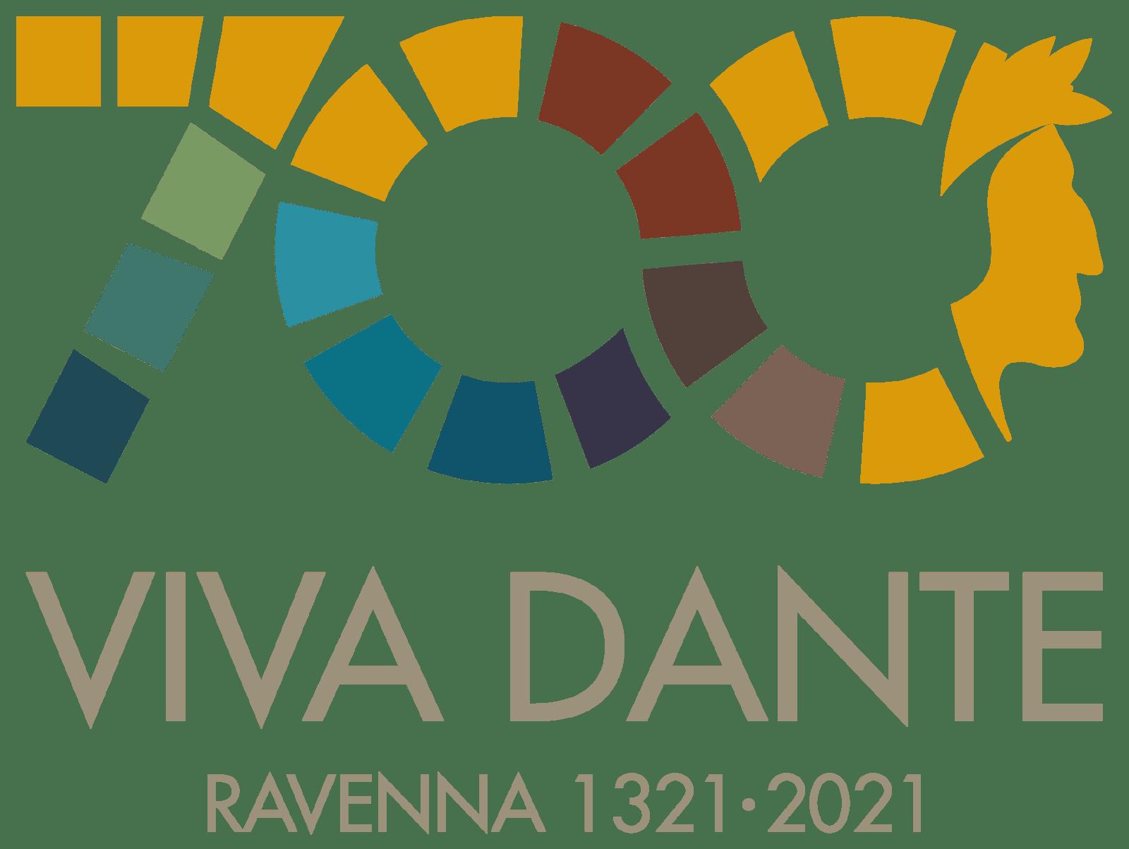 logo manifestazione 700 viva dante ravenna 1321-2021